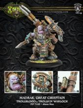 Madrak, Great ChieftanTrollbloods Warlock   RESIN